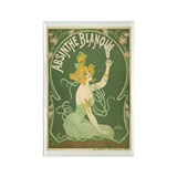 Absinthe Blanqui Rectangle Magnet
