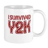 I Survived Y2K - Red Mug