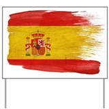 Spain Flag Yard Sign