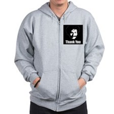 The Thank You Series Zip Hoodie
