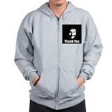 The Thank You Series Zipped Hoody