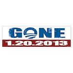GONE 1.20.2013 Sticker (Bumper 10 pk)