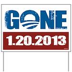 GONE 1.20.2013 Yard Sign