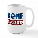 GONE 1.20.2013 Large Mug
