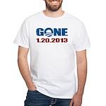 GONE 1.20.2013 White T-Shirt