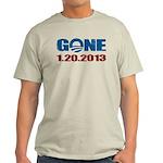 GONE 1.20.2013 Light T-Shirt