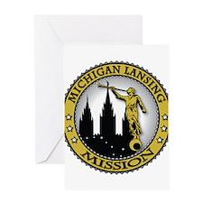 Michigan Lansing LDS Mission Greeting Card