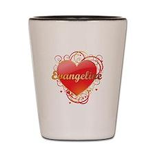 Evangeline Valentines Shot Glass