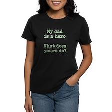dad hero dark T-Shirt