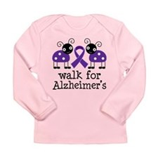 Walk For Alzheimer's Long Sleeve Infant T-Shirt