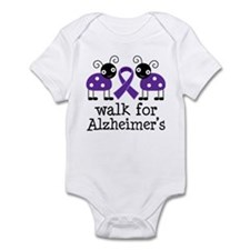 Walk For Alzheimer's Infant Bodysuit