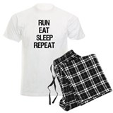 Run Eat Sleep Repeat pajamas