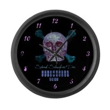 225 wpm Large Wall Clock