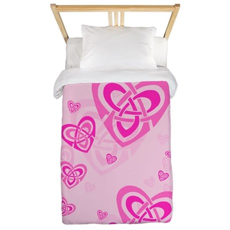 Celtic Hearts Twin Duvet Cover