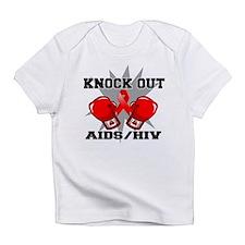 Knock Out AIDS Infant T-Shirt