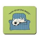Keeshond &quot;Non-Sporting Breed&quot; Mousepad