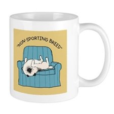 "Keeshond ""Non-Sporting Breed"" Mug"