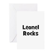 Leonel Rocks Greeting Cards (Pk of 10)