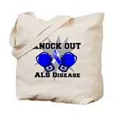 Knock Out ALS Tote Bag