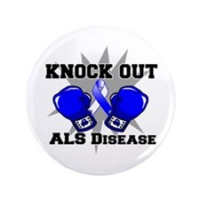 "Knock Out ALS 3.5"" Button (100 pack)"