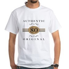 Authentic 80th Birthday Shirt