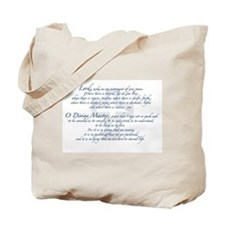 Prayer of St. Francis Tote Bag