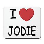I heart jodie Mousepad