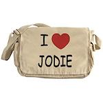 I heart jodie Messenger Bag