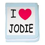 I heart jodie baby blanket