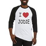 I heart jodie Baseball Jersey