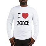 I heart jodie Long Sleeve T-Shirt