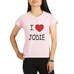 I heart jodie Performance Dry T-Shirt