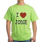 I heart jodie Green T-Shirt