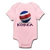Team North Korea Infant Bodysuit