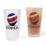 Team North Korea Drinking Glass