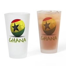 Team Ghana Drinking Glass