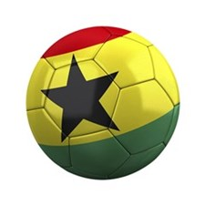 "Team Ghana 3.5"" Button"