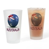 Team Australia Drinking Glass