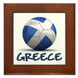 Team Greece Framed Tile