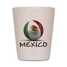 Team Mexico Shot Glass