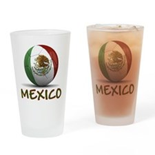 Team Mexico Drinking Glass