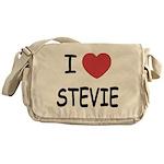 I heart stevie Messenger Bag