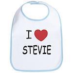 I heart stevie Bib