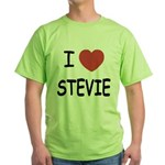 I heart stevie Green T-Shirt