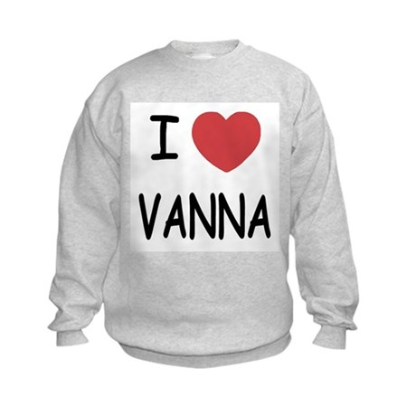 I heart vanna Kids Sweatshirt