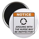 "Nurse / Argue 2.25"" Magnet (10 pack)"