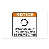 Nurse / Argue Stickers