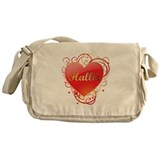 Hallie Valentines Messenger Bag