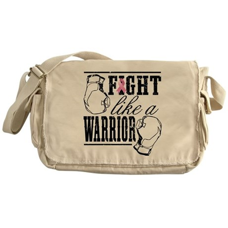 Fight Like a Warrior Messenger Bag