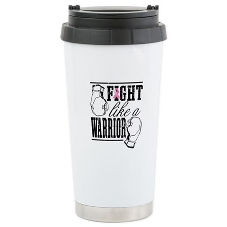 Fight Like a Warrior Ceramic Travel Mug